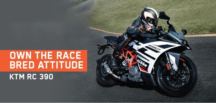 KTM RC 390: Designed to salvage your speed thrills